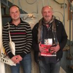 Marc Pfeiffer (directeur de L'Estival) et Pierre Sokol (LO)