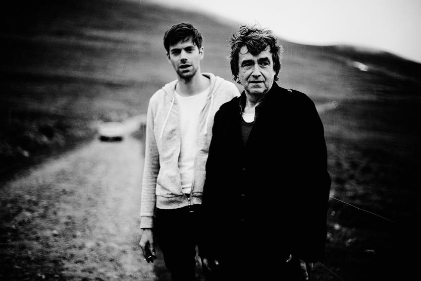 Alexandre Rochon & Jean-Louis Murat © Julien Mignot