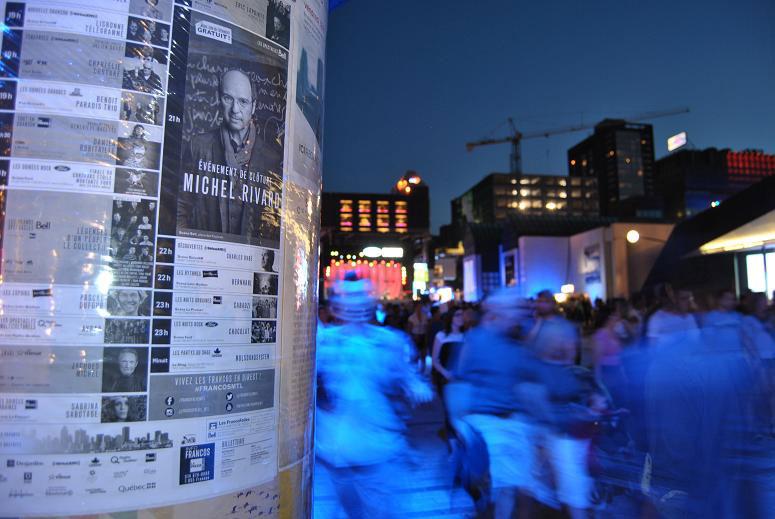 Francofolies de Montréal © Bastien Brun