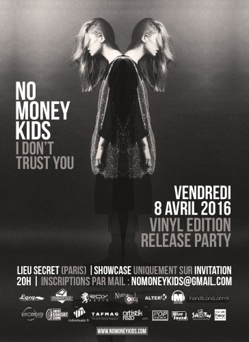 No Money Kids - Vinyl Release Party