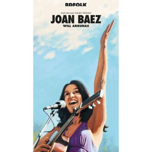 JOAN BAEZ de Jean-William Thoury et Will Argunas - Longueur d'Ondes