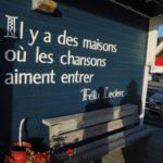 Citation Felix Leclerc Festival en Chanson de Patite-Vallee 2016 ©Bastien Brun - Longueur d'Ondes