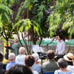 Festival Chansons & Mots d'Amou - Lectures de Marie-Christine Barrault accompagnée par Simon Dalmais - © Marylène Eytier - Longueur d'Ondes