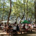Festival Chansons & Mots d'Amou - Restauration sous les platanes - © Marylène Eytier - Longueur d'Ondes