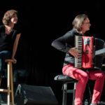 Festival Chansons & Mots d'Amou - Hommage à Léo Ferré avec Céline Caussimon et Etienne Champollion - © Marylène Eytier - Longueur d'Ondes