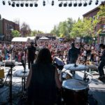 Scene Principale Galaxie decor Galaxie @Festival de musique emergente en Abitibi-Temiscamingue 2016 ©Louis Jalbert - Longueur d'Ondes