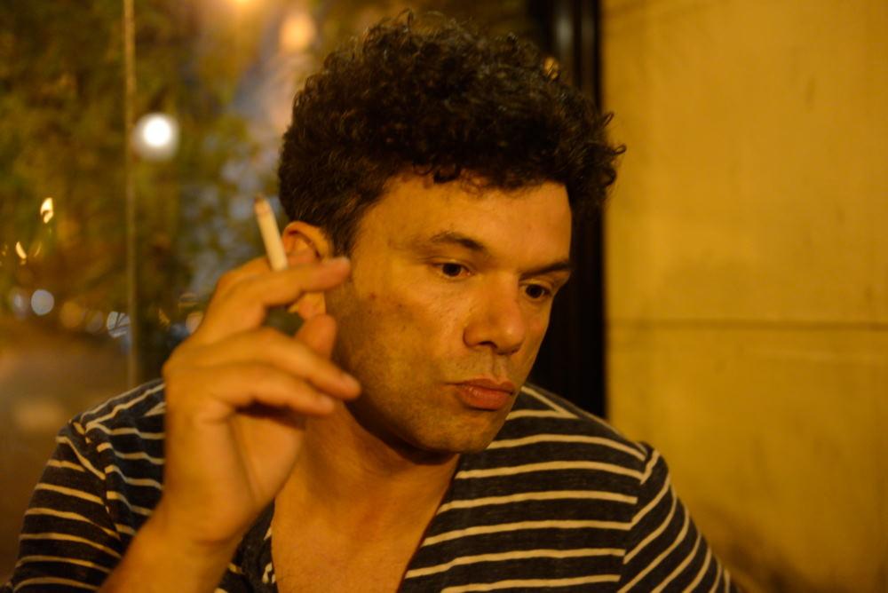 ROMAIN HUMEAU en entrevue dans Longueur d'Ondes 2016 ©Patrick Auffret