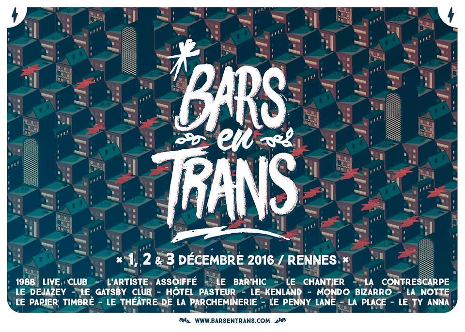 BARS EN TRANS 2016, partenaires de Longueur d'Ondes