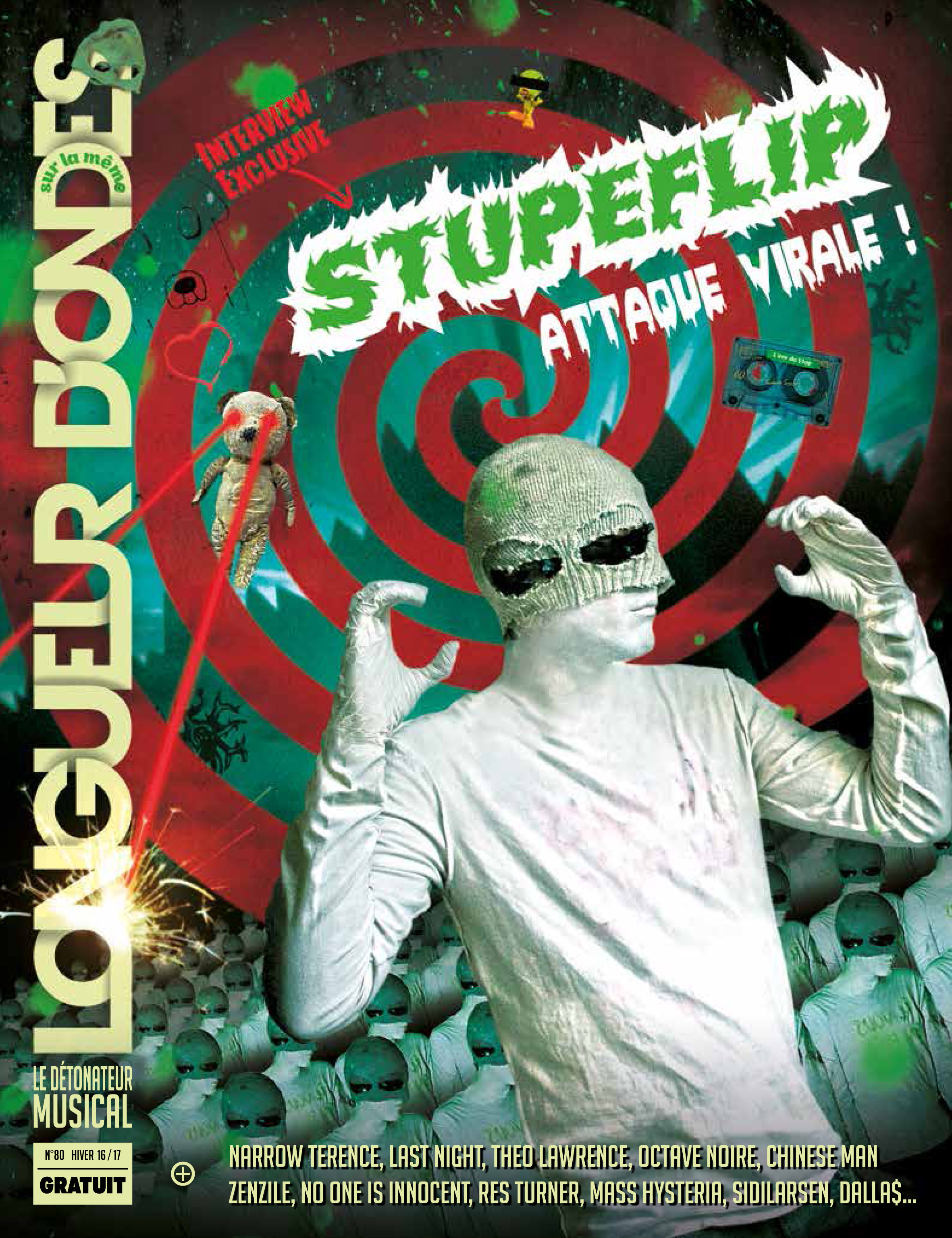 Longueur d'ondes numéro 80 - En exclu : Stupeflip !