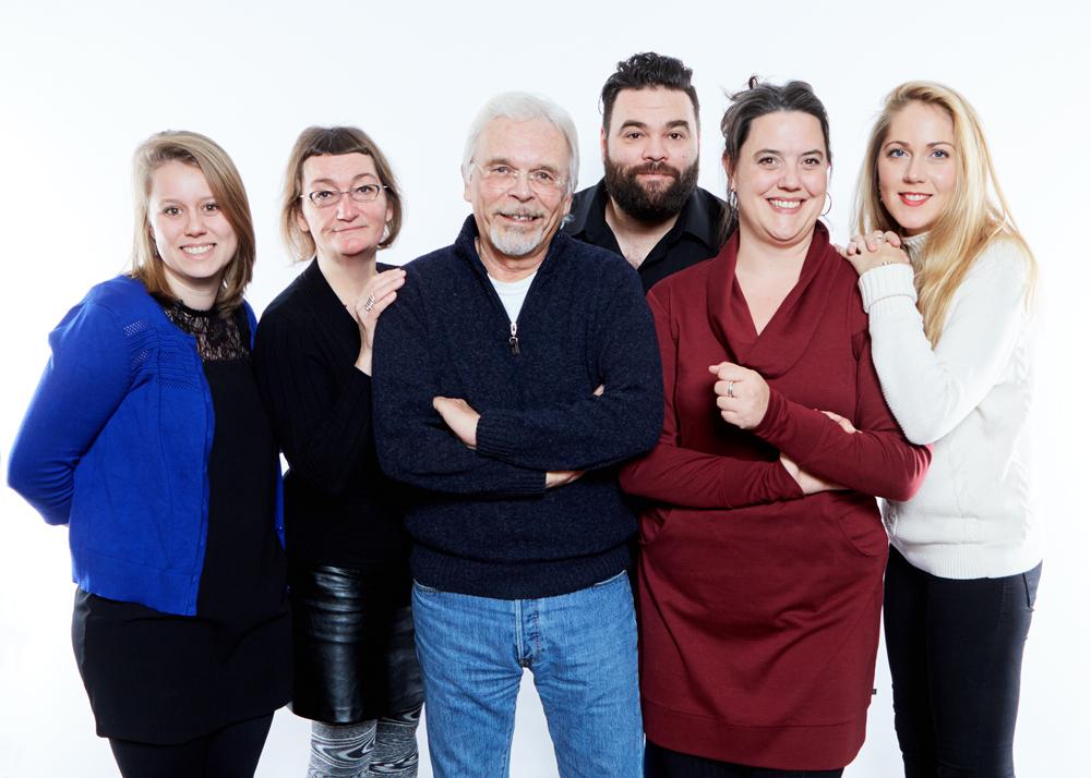 CCF Alain Chartrand et son équipe