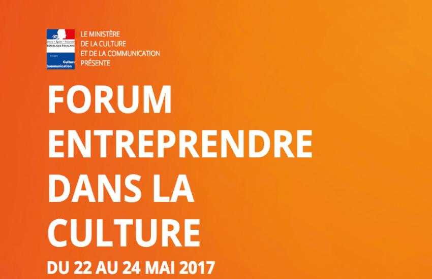 Forum National Entreprendre dans la Culture sur Longueur d'Ondes