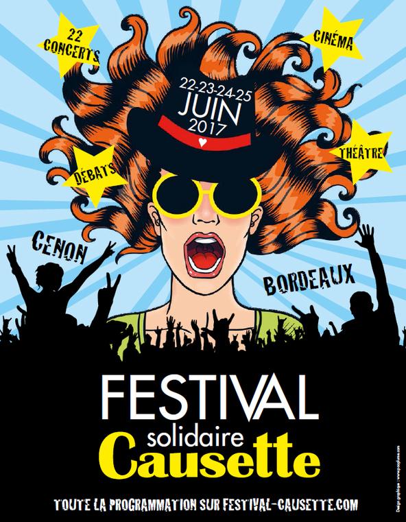 Programmation du Festival Causette (33) sur Longueur d'Ondes