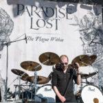 Paradise Lost ©Benjamin Pavone @Download Festival - Longueur d'Ondes