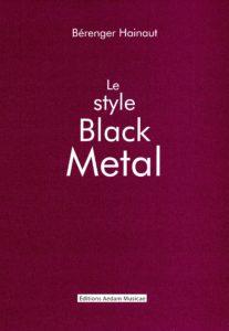Berenger Hainaut, son livre Le style Black Metal sur Longueur d'Ondes