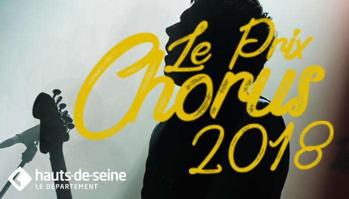 Prix Chorus 2018 sur Longueur d'Ondes