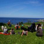 Concert en plein air ©Serge Beyer @Petite Vallee - Longueur d'Ondes