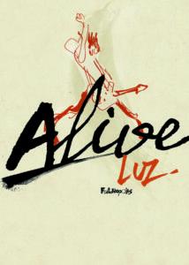 Luz, son livre de croquis Alive sur Longueur d'Ondes