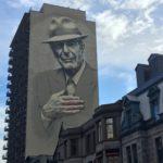 Leonard Cohen veille sur Montreal