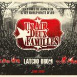 Un Air, Deux familles, son album Latcho Drom - Live 2017 sur Longueur d'ondes