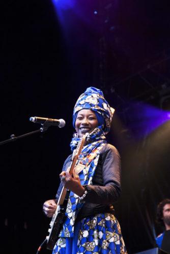 Fatoumata Diawara © Clémence Rougetet
