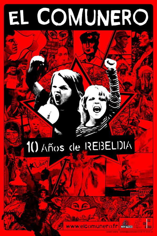 10 ans du groupe El Comunero, le 17 mai à Toulouse
