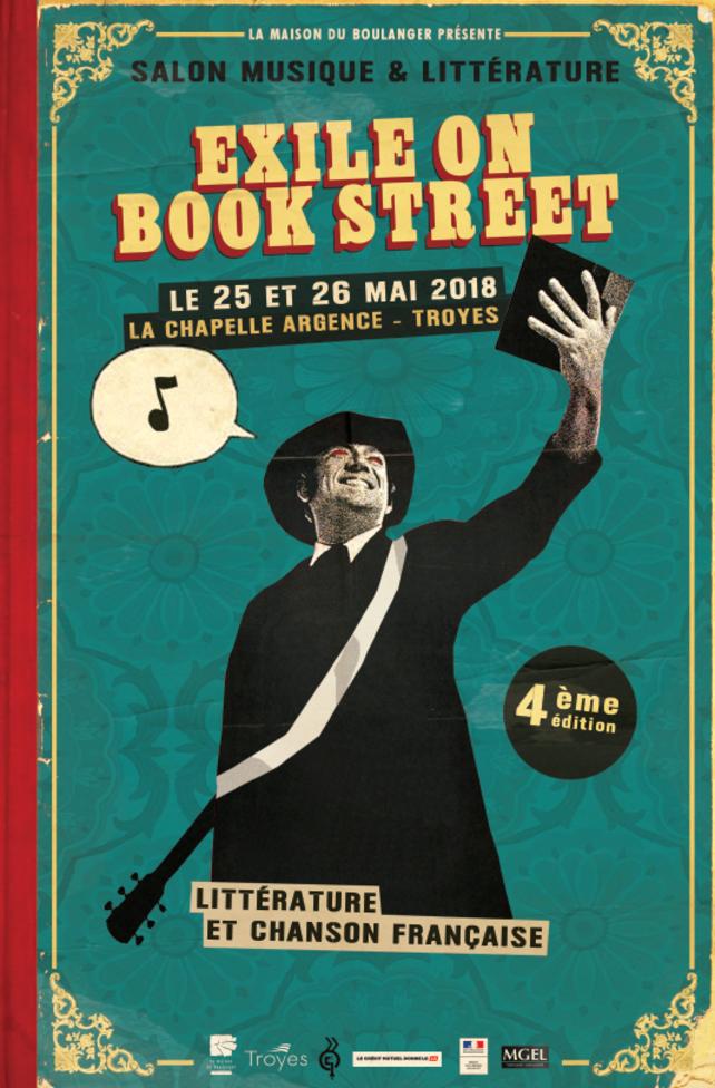 """Salon littéraire et rock """"Exile on Book Street"""", à Troyes les 25 et 26 mai ©Mr Choubi"""