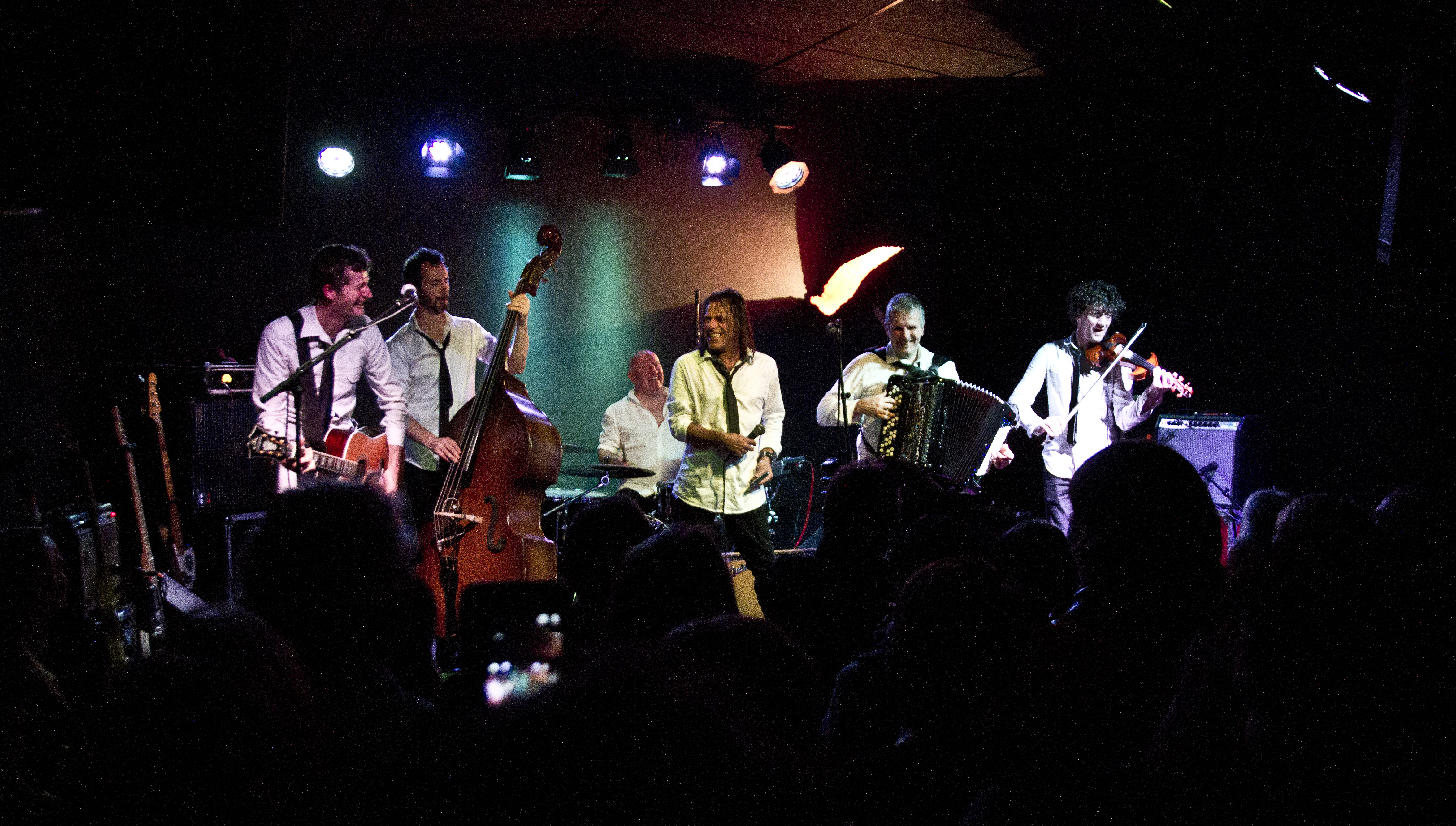 The Very Small Orchestra, leur album Gagarine sur Longueur d'Ondes