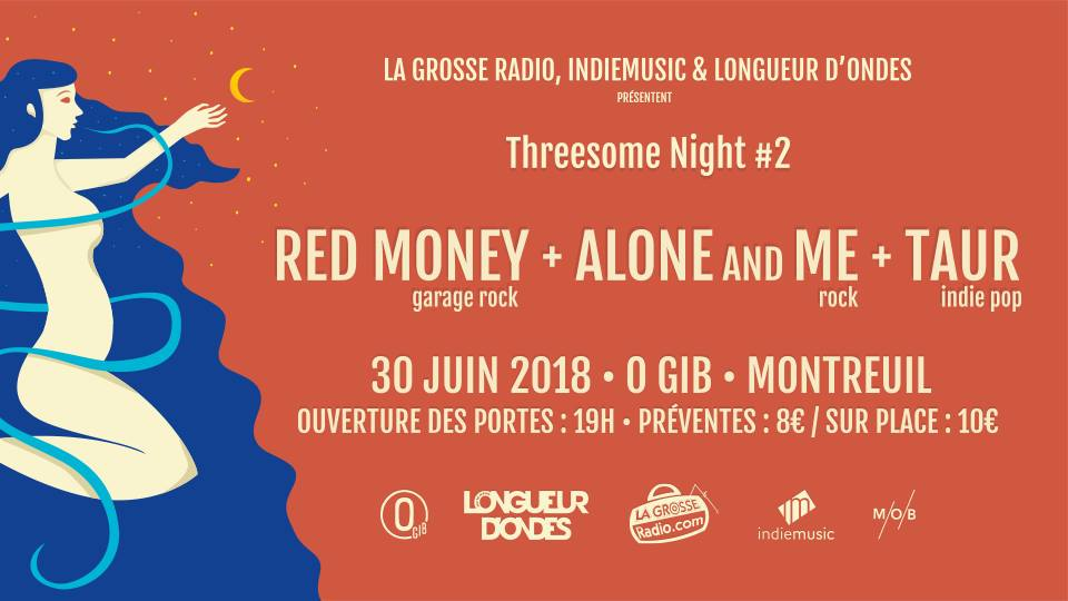Threesome Night #2 : Red Money, Alone and Me, Taur