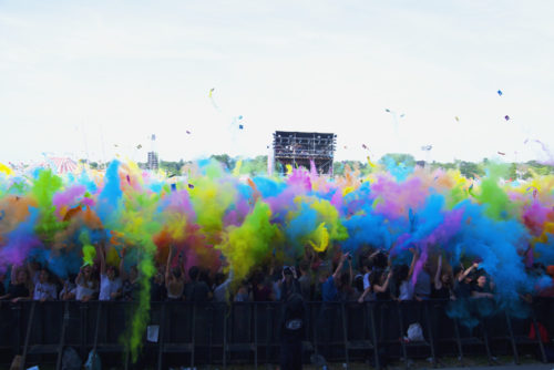 Color Party - Solidays 2018. ©Clémence Rougetet