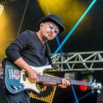 Pause Guitare 2018 - Le bassiste de Bernard Lavilliers © Photo : Marylène Eytier