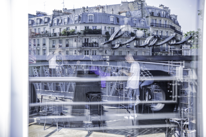 En coulisses chez Hôtel Radio Paris ©Guendalina Flamini
