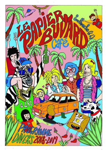 """Café Concerts """"Le Papier Buvard"""""""