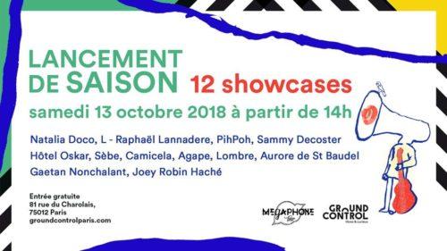 Lancement de la saison du Mégaphone Tour