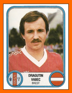 Drago VABEC - Panini Stade Brestois 1983