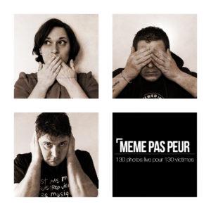 MEME PAS PEUR : 130 photos live pour 130 victimes sur Longueur d'Ondes