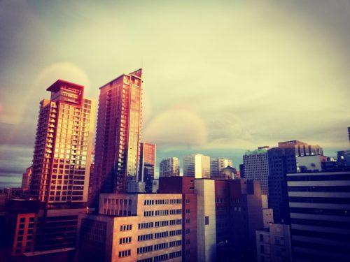 aurore sur Montreal