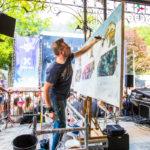 Francos de Spa 2019 - Peinture en live © Marylène Eytier