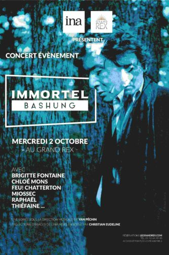 IMMORTEL BASHUNG BILLETTERIE