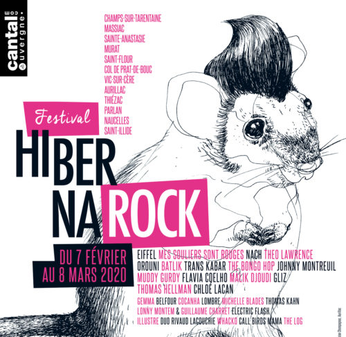 Affiche Hibernarock